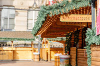 Christmas German Market at Birmingham City, UK