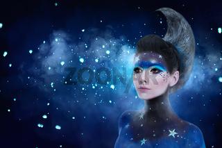 Moon make-up