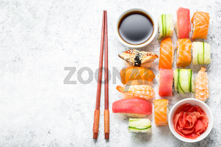 Sushi assorted set