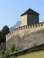 Salzburg - Fortified tower, Josef' Tower, Richterhöhe, Mönchsberg, Austria