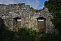 Ruin Hohenurach near Bad Urach, Swabian Alb