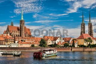 Wroclaw, Domkirche und Martinikirche