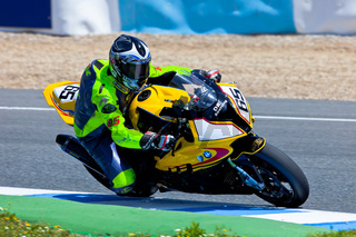 Juan Eric Gomez pilot of Stock Extreme of the CEV Championship
