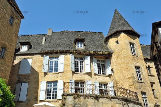 Sarlat la Caneda in France