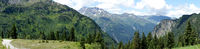 Panorama of the Alps in Austria