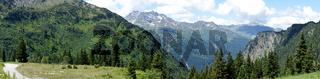 Alpenpanorama in Österreich