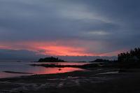 Sunrise in Vita Sannar, Sweden.