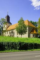 Fieldstone church Hohenfinow, Brandenburg, Germany
