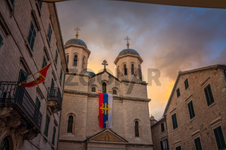 St. Nicholas Church in Kotor Old Town