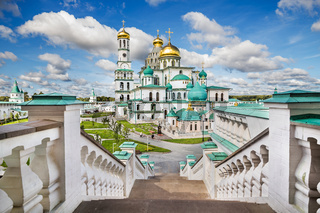 View of the Russian New Jerusalem monastery. Russia