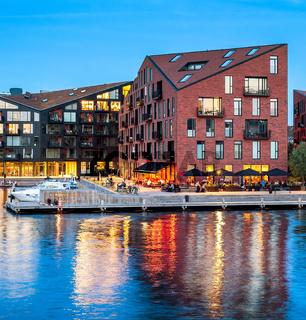 Modern architecture design buildings, Copenhagen