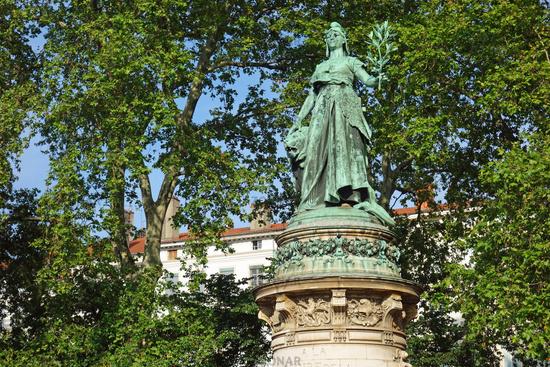 Statue de la République in Lyon