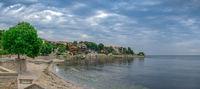 Seashore in the ancient city of Nessebar, Bulgaria