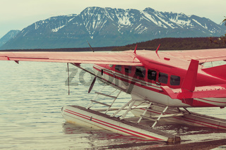 Airplane in Alaska