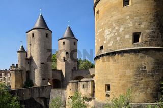 Metz - Porte des Allemands, Stadttor, Frankreich