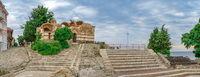 Ancient theatre in Nessebar, Bulgaria