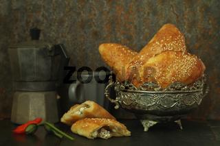 Pogaca - türkische Teigtaschen