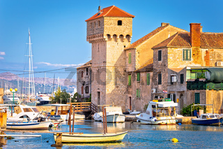 Kastel Gomilica old town on the sea near Split