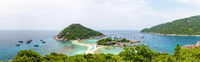 Panorama Koh Nang Yuan Island