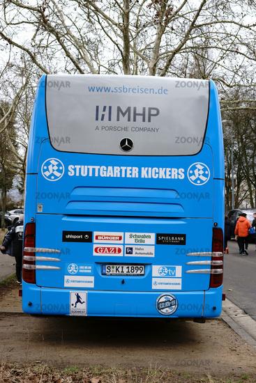 Team bus Stuttgarter Kickers