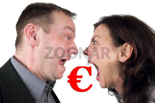 Streit ums Geld