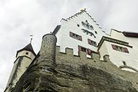 Lenzburg Castle, Lenzburg, canton Aargau, Switzerland