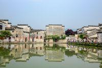 Hongcun village, Unesco site, Huangshan, Anhui Provice, China