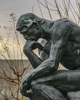 Thinker Sculpture, Ueno Park, Tokyo, Japan