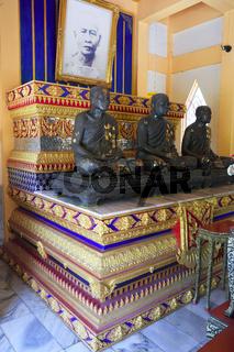 Grabstätte für Mönche, Tempel Wat Phra Thong, Phuket, Thailand
