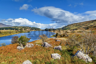 Lough Looscaunagh lake, Ireland