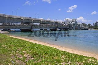 Sarasin Brücke, verbindet Phuket mit dem Festland, Thailand
