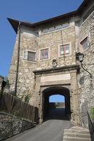 Salzburg - Felixpforte (Felix Gate) on the Kapuzinerberg, Austria