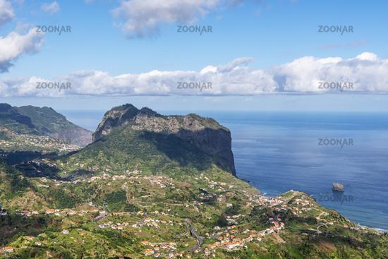 north coast, Porto da Cruz, Madeira, Portugal, Europe