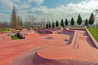 Roller and skate park