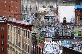 Graffiti Hauswand