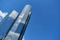 Hochhäuser im Bankenviertel von Frankfurt am Main