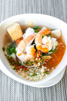Seafood thai sukiyaki