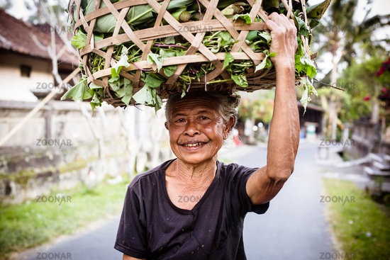 Balinese Female Worker
