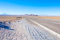 Chile Atacama desert highway 23