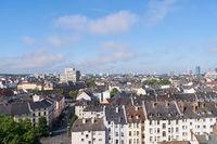 Dächer von Mietshäusern in Frankfurt am Main