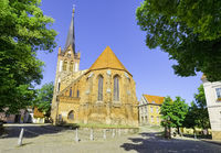 Parish church St. Nikolai, Bad Freienwalde, Brandenburg, Germany