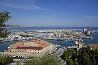 military hospital, industrial facilities, port, Ancona, Italy, Europe