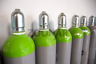 Seamless Steel Industrial Gas Cylinders