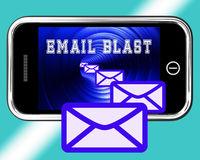 Email Blast Newsletter Promotion Delivering 3d Rendering