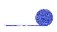 Blue Yarn Ball