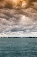 bad weather at Auckland New Zealand