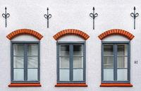 Luebeck facade detail