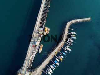 Boat moorings berths at Port Kembla Australia
