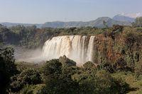 The Blue Nile Falls near Bahir Dar
