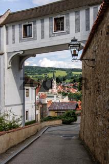 Way at Castle Czech Krumlov